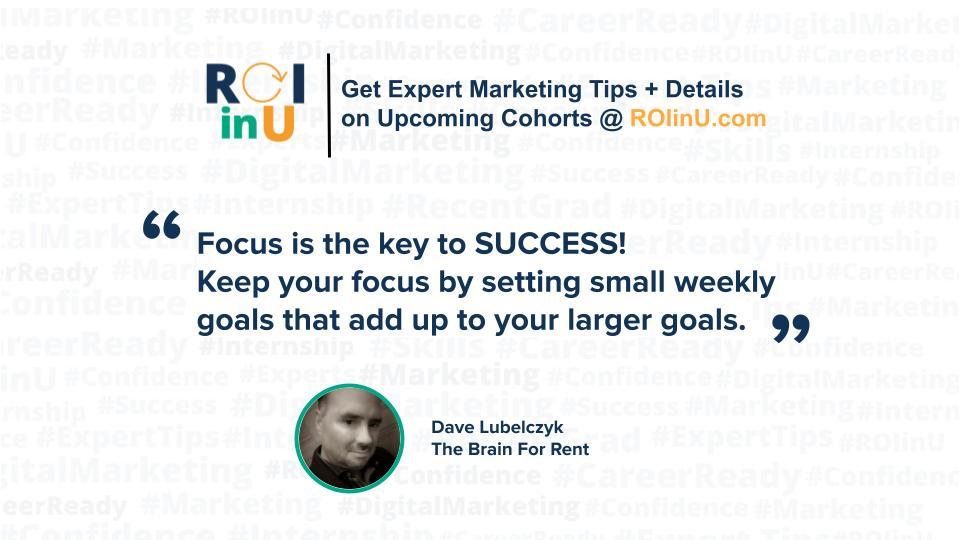 Brand Strategist Dave Lubelczyk Focus